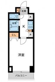 カッシア川崎レジデンス7階Fの間取り画像