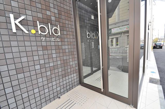 K.Bld 高級感がある広いエントランスがあなたを出迎えてくれます。