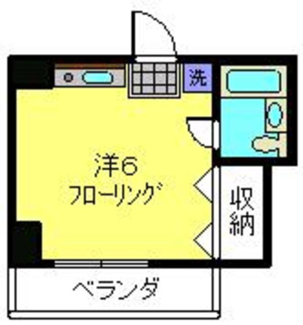 鶴見駅 バス14分「馬場4丁目」徒歩2分間取図