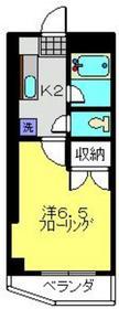 武蔵小杉駅 徒歩10分1階Fの間取り画像