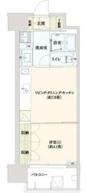Flats TAHICO12階Fの間取り画像