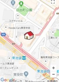 新大塚駅 徒歩17分案内図