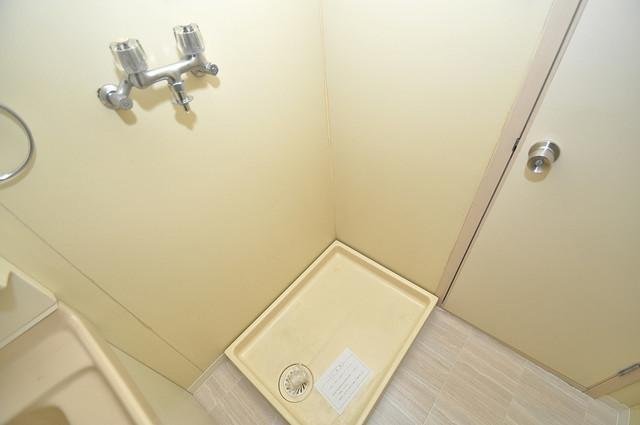 ブライトアーデン 洗濯機置場が室内にあると本当に助かりますよね。