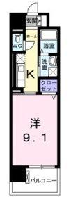 グランアルブル6階Fの間取り画像