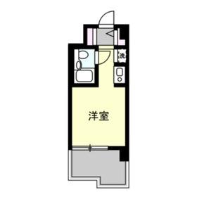 ユーコート洋光台1階Fの間取り画像