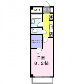 フレアコスモ3階Fの間取り画像