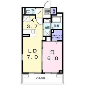 メゾン・レジュイット3階Fの間取り画像