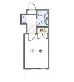 レオパレス柏88Aの間取図