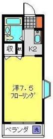 横浜駅 徒歩25分2階Fの間取り画像