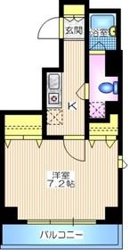 リオデラパス4階Fの間取り画像