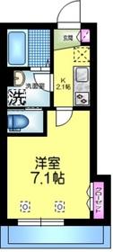 へーベルメゾン亀戸1階Fの間取り画像