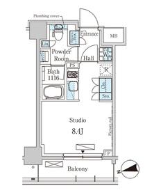 パークアクシス大森レジデンス 606号室