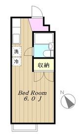 ラフィーナ212階Fの間取り画像
