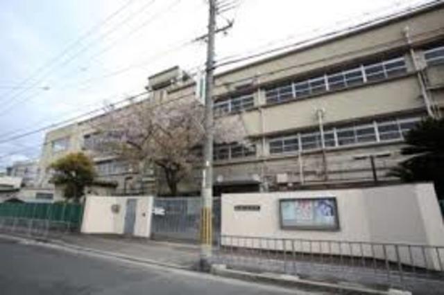 長栄寺8-24 貸家 東大阪市立長栄中学校