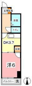 セントエルモ里庄3階Fの間取り画像