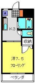 シーサイドパレス新杉田2階Fの間取り画像