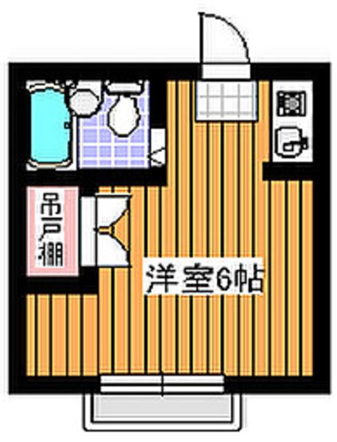 西高島平駅 徒歩3分間取図