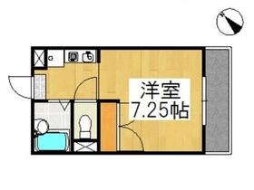 中庄ルミエール1階Fの間取り画像