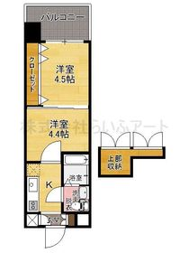 プロジェクト2100日赤通り No.51  : 6階間取図