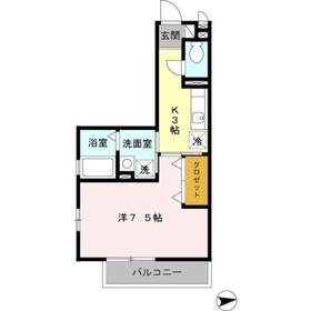 長津田駅 徒歩7分1階Fの間取り画像