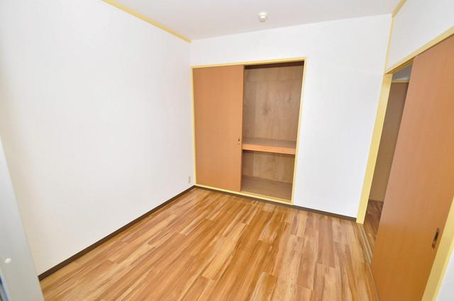 メダリアン巽 陽当りの良いベッドルームは癒される心地良い空間です。