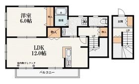 ラ シェール リオン2階Fの間取り画像