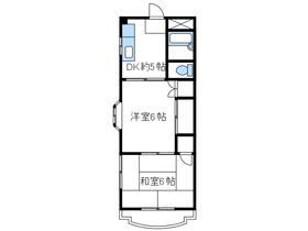 グランドマンション53階Fの間取り画像