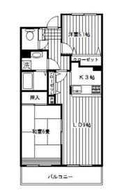 シンベルク横濱3階Fの間取り画像
