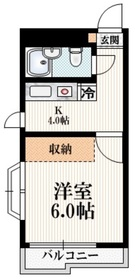 TOP上石神井第14階Fの間取り画像