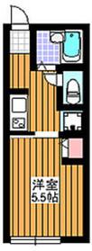 地下鉄赤塚駅 徒歩2分1階Fの間取り画像