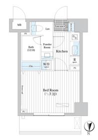 L・BASE押上South7階Fの間取り画像