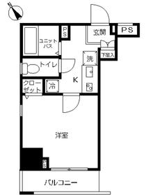 スカイコート本郷東大前弐番館7階Fの間取り画像
