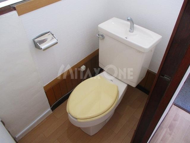 芦川平屋戸建て貸家トイレ