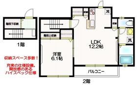 狛江駅 徒歩15分2階Fの間取り画像