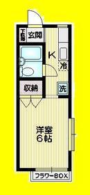 ルヴェドジュール2階Fの間取り画像