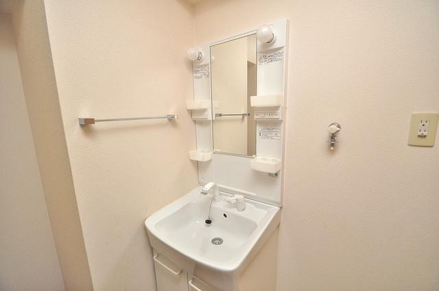 グランガーデン足代新町 豪華な洗面台はもちろんシャンプードレッサー完備です。