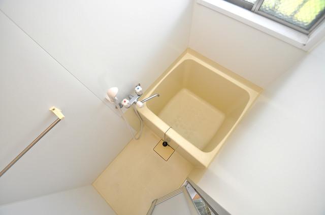 江口コーポ ちょうどいいサイズのお風呂です。お掃除も楽にできますよ。