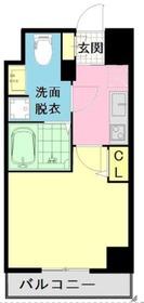 ザ・レジデンス横浜青木橋4階Fの間取り画像