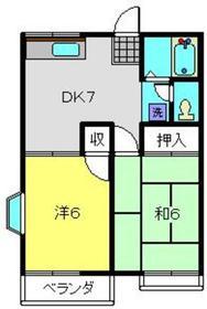 上星川駅 徒歩21分1階Fの間取り画像