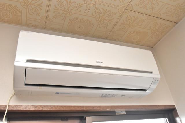 荻田第6ビル エアコンが最初からついているなんて、本当にうれしい限りです。