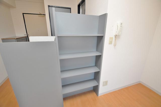 ノーブル布施 もちろん収納スペースも確保。お部屋がスッキリ片付きますね。