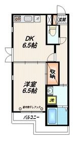 梅屋敷駅 徒歩7分2階Fの間取り画像