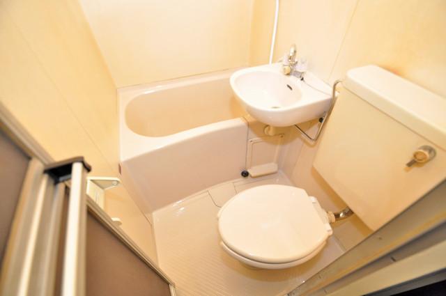 センチュリーシティⅠ シャワー1本で水回りが簡単に掃除できますね。
