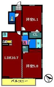 仮)D-room鷺沼台1階Fの間取り画像