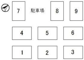 石川貸家 9配置図