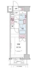 神楽坂駅 徒歩5分2階Fの間取り画像