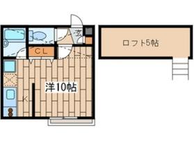 鶴見市場駅 徒歩11分2階Fの間取り画像