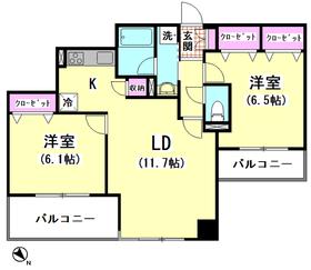 K2ロイヤル 503号室