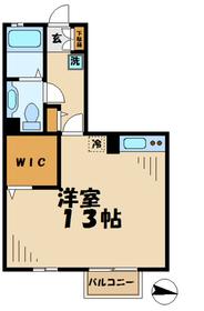 エトワール(堀之内3)1階Fの間取り画像