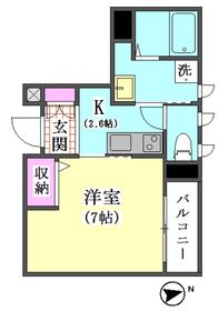 仲六郷2丁目シャーメゾン 202号室